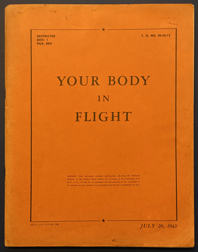 "Image for Your Body in Flight: An Illustrated ""Book of Knowledge"" For the Flyer. (Eric Sloane)"