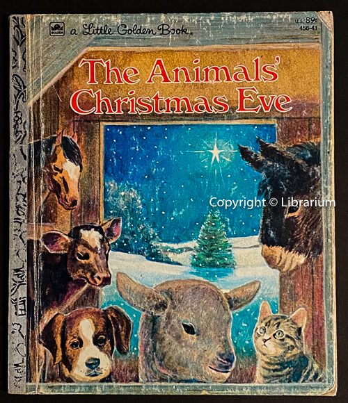 Image for The Animals' Christmas Eve (Little Golden Book #154)