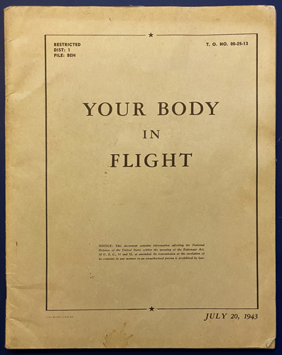 "Image for Your Body in Flight: An Illustrated ""Book of Knowledge"" For the Flyer. (Eric Sloane)."