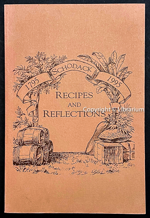 Image for Schodack Recipes and Reflections 1795 - 1995