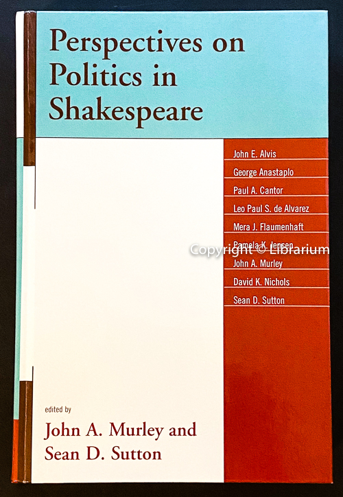 Image for Perspectives on Politics in Shakespeare