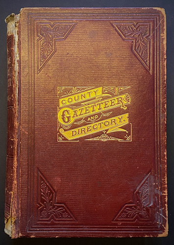 Image for Gazetteer of Berkshire County, Mass. 1725-1885. Part First & Part Second in one book.