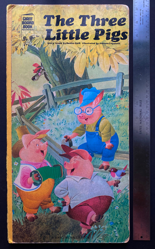 Image for The Three Little Pigs. Giant Board Book
