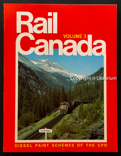Image for Rail Canada: Diesel Paint Schemes of the CPR. Volume 3 (Three)